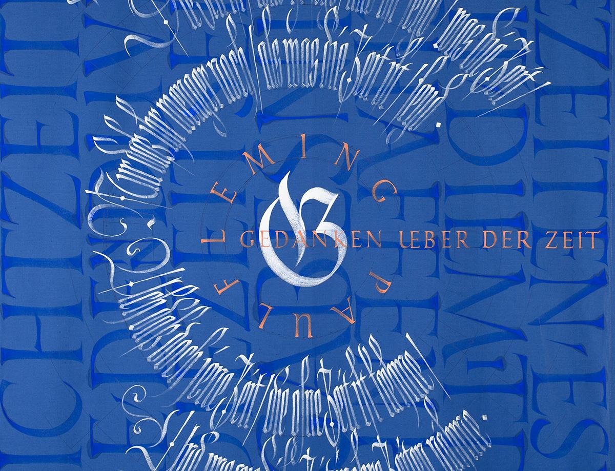 Kalligrafie Kreis