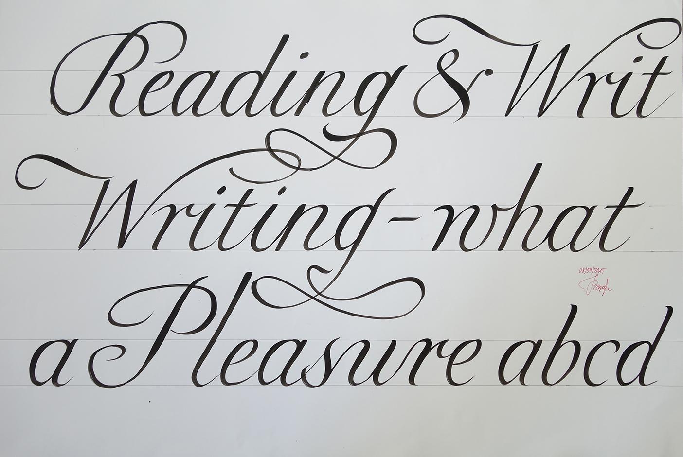 Englische Schreibschrift