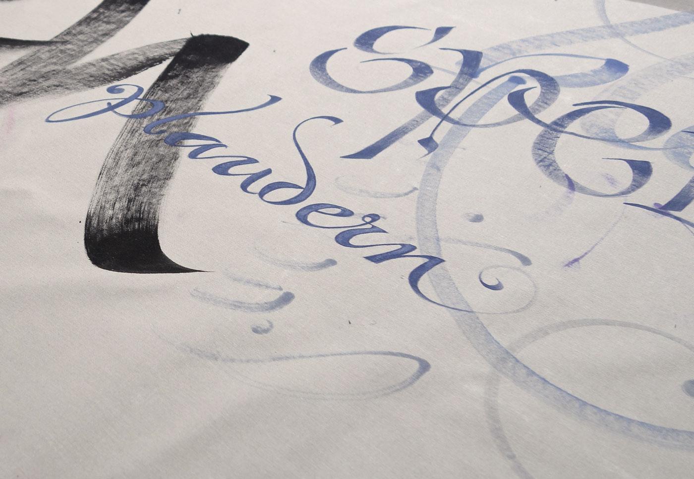 Kalligrafie propfe kalligrafie fur das kuchenstudio for Küchenstudio braunschweig