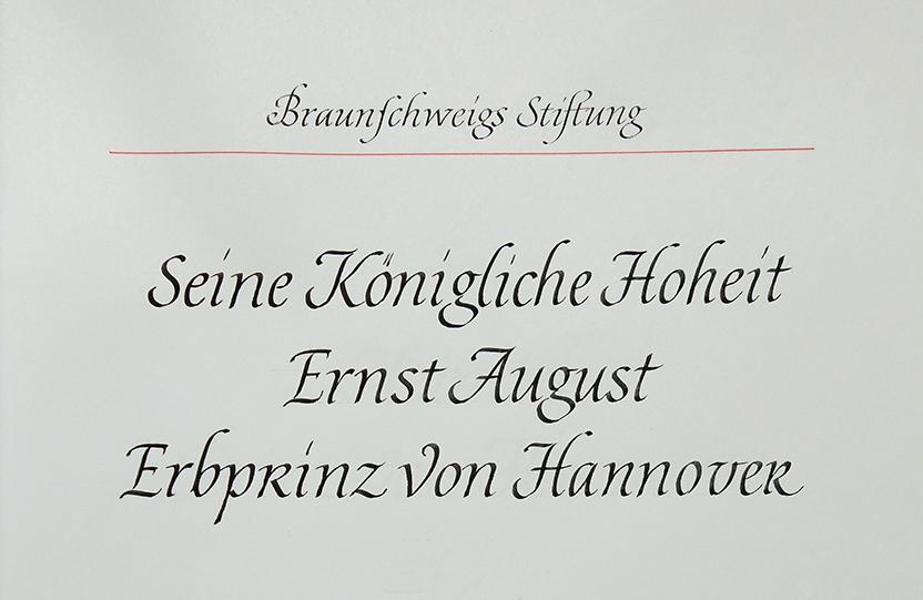 Königliche Hoheit Ernst August