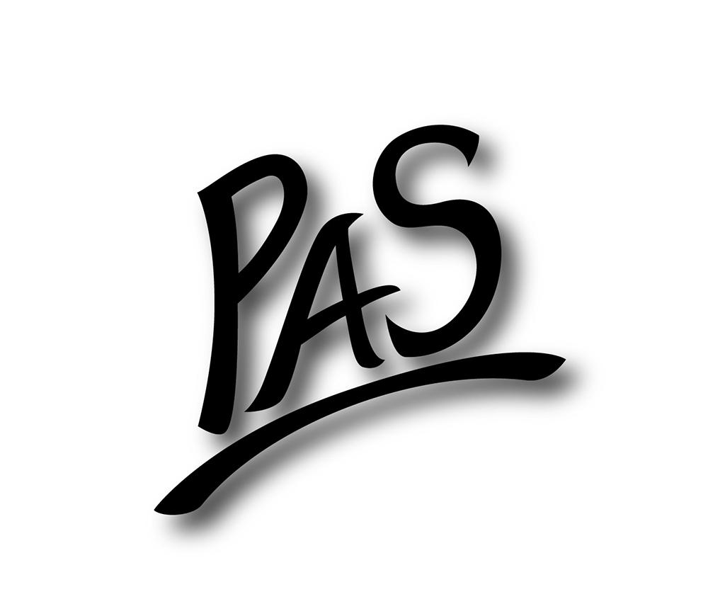 PAS Logo schwarz