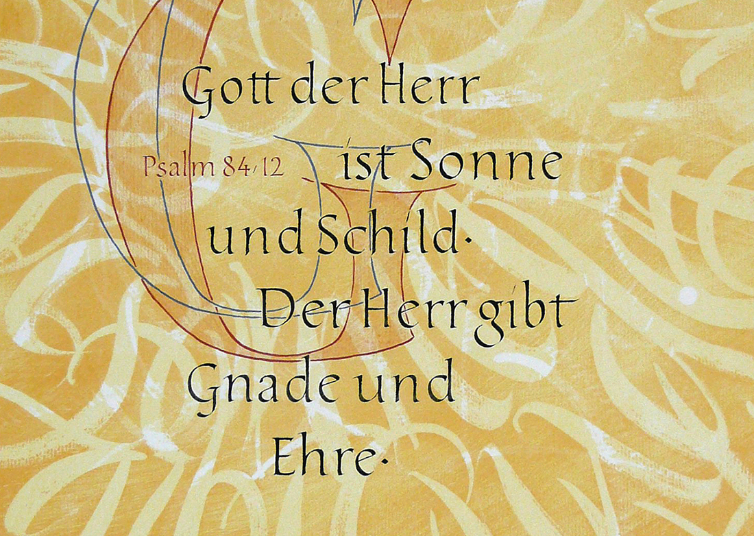 Gott der Herr ist Sonne und Schild