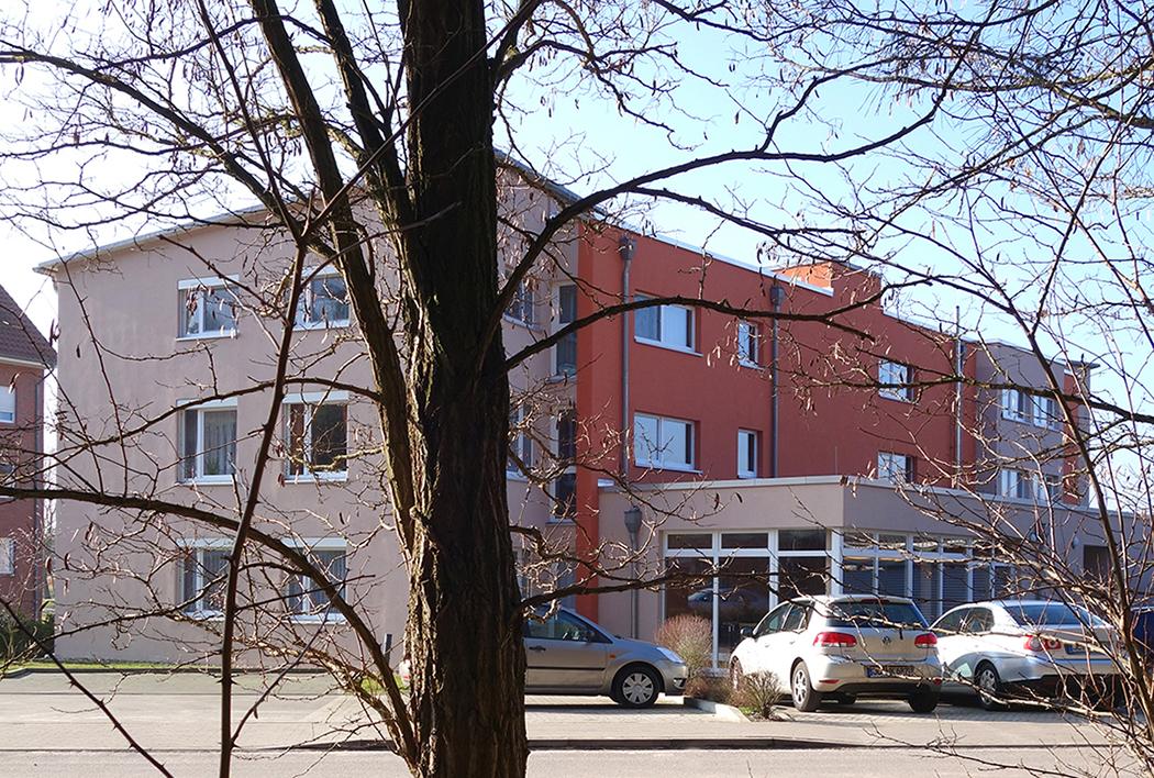 Farbkonzept Fassade Nordseite