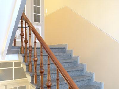 Farbdesign Treppenhaus