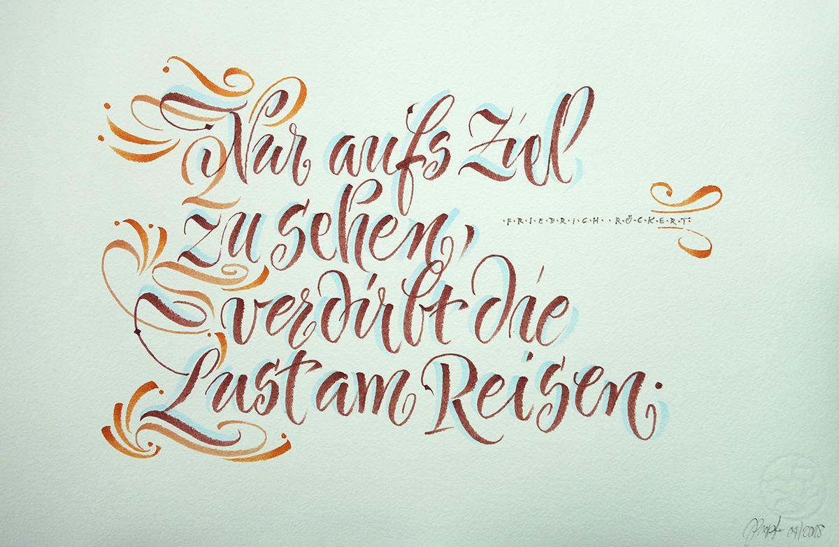 Text von Friedrich Rückert