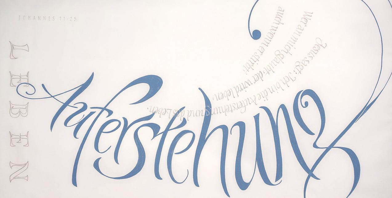 Kalligrafi von Joachim Propfe