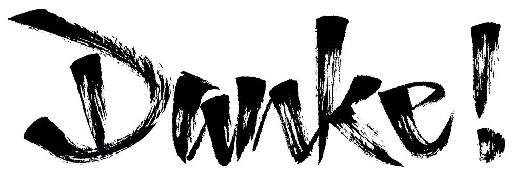 Brushpen-Kalligrafie