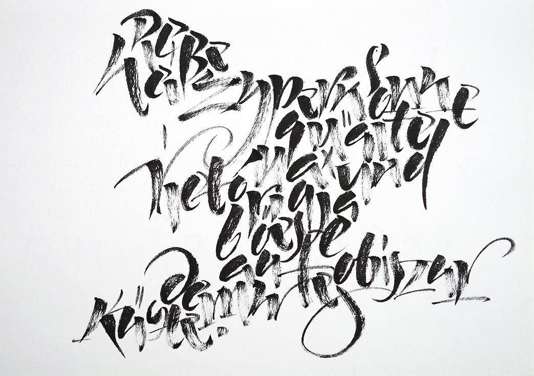 expressive Textgestaltung