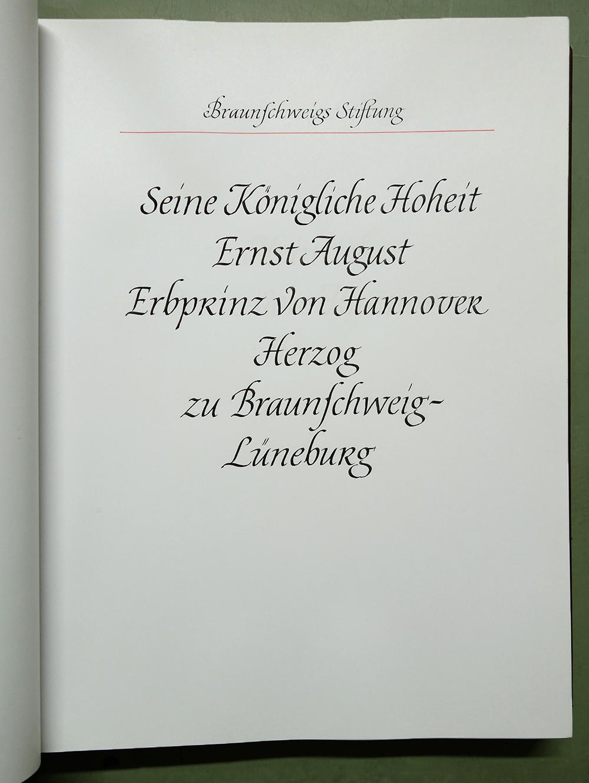 Seine Königliche Hoheit Ernst August Erbprinz von Hannover