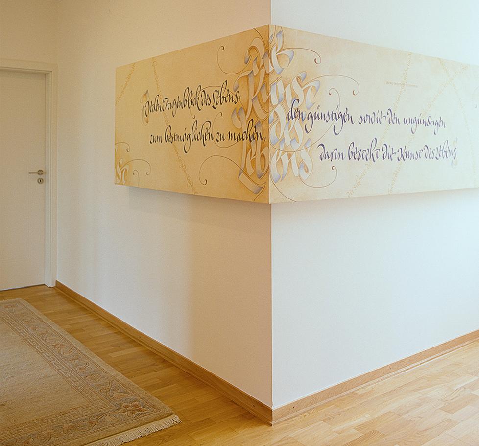 Kalligrafie Propfe » Um Die Ecke Gedacht