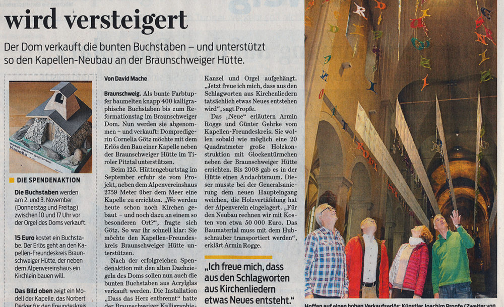 Reformationsjubiläum im Braunschweiger Dom