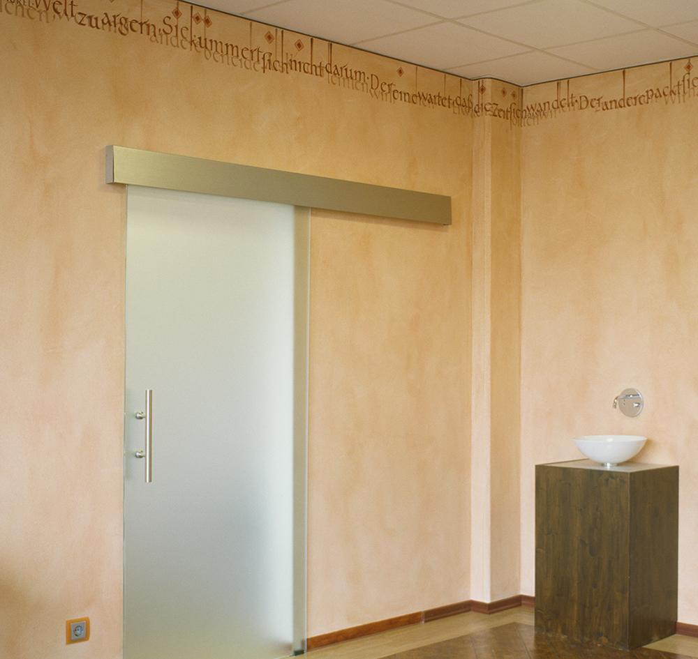 Wandgestaltung, Wandkalligrafie, Wall-Lettering