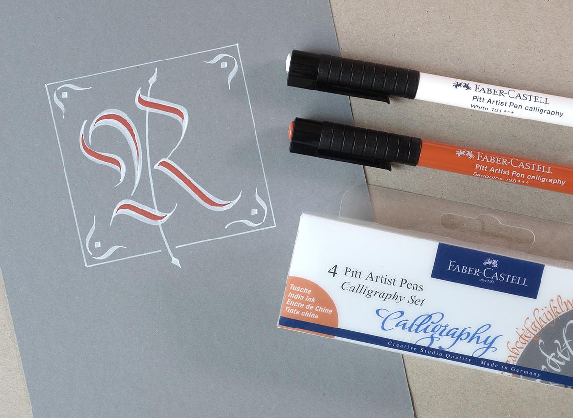 Pitt Artist Pen Calligraphy